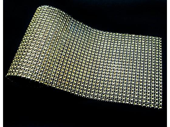 Pas Diamentowy 12 cm Złoty