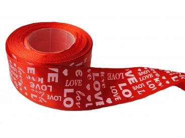 Atłas LOVE 40 mm x 25 y KOD FX104