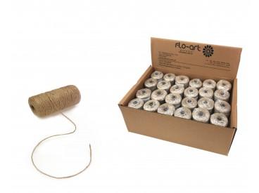 Sznurek naturalny na motku 100 gram - Susz003