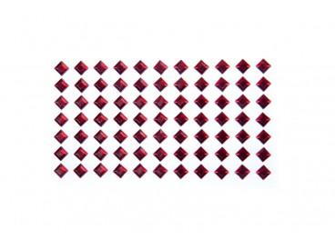 Kwadrat do przyklejenia 6mm KOD X094