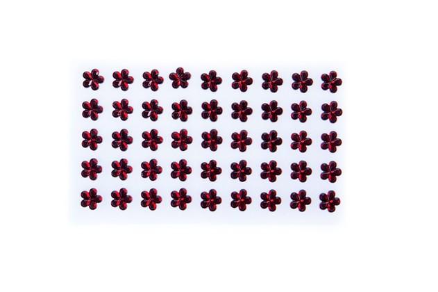 Kwiatki akrylowe do przyklejenia KOD X088